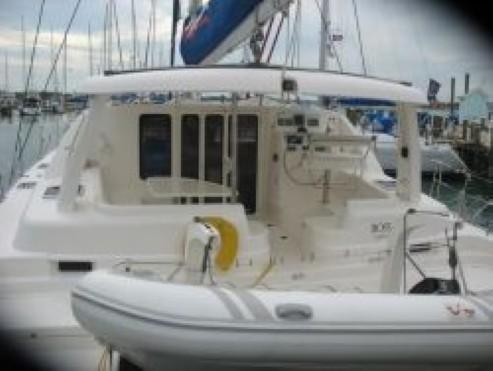 Preowned Sail Catamarans for Sale 2006 Leopard 43  Deck & Equipment